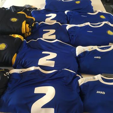 Sport T-shirts met rugnummers