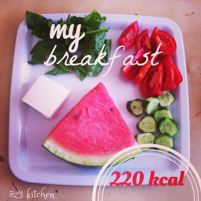 Karpuzlu Kahvaltı