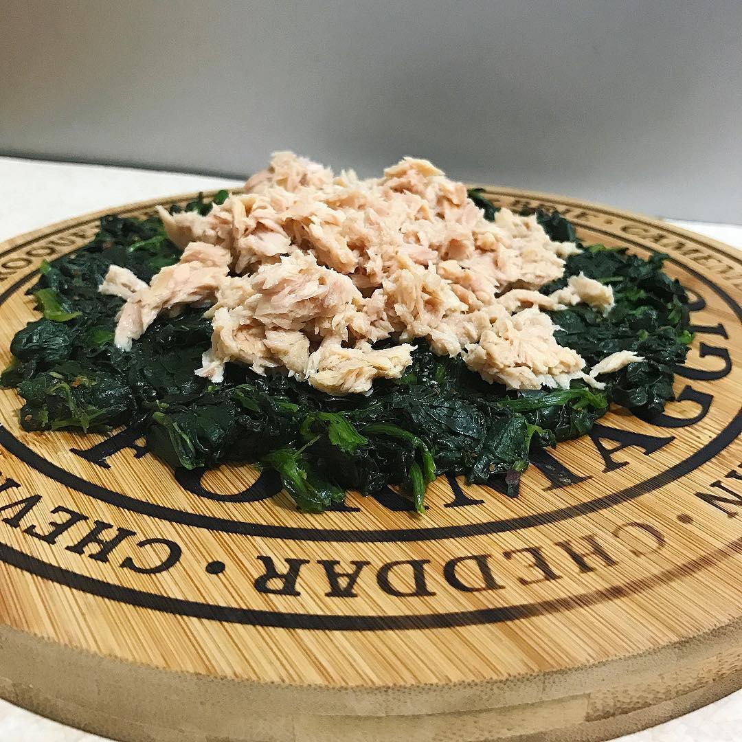 Ton Balıklı Ispanak