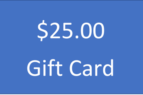 $25.00 Increment Gift Card