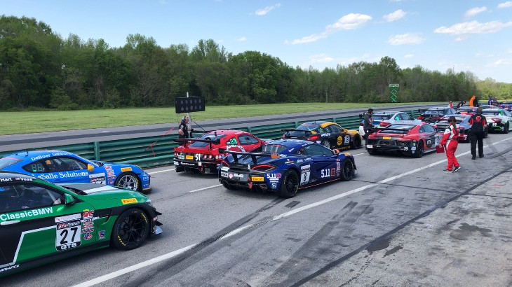 Th start at VIR Pirelli World Challenge GTS Class