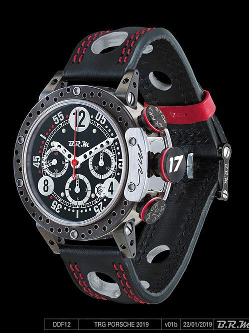 Derek DeBoer #17 Limited Edition BRM Timepiece