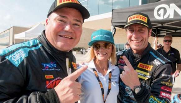 Sean Gibbons, Me, and Derek after winning last year at COTA.