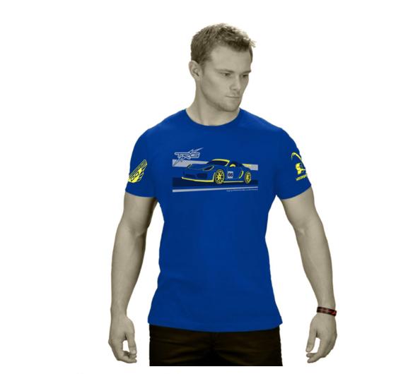 Porsche T-Shirt in Blue