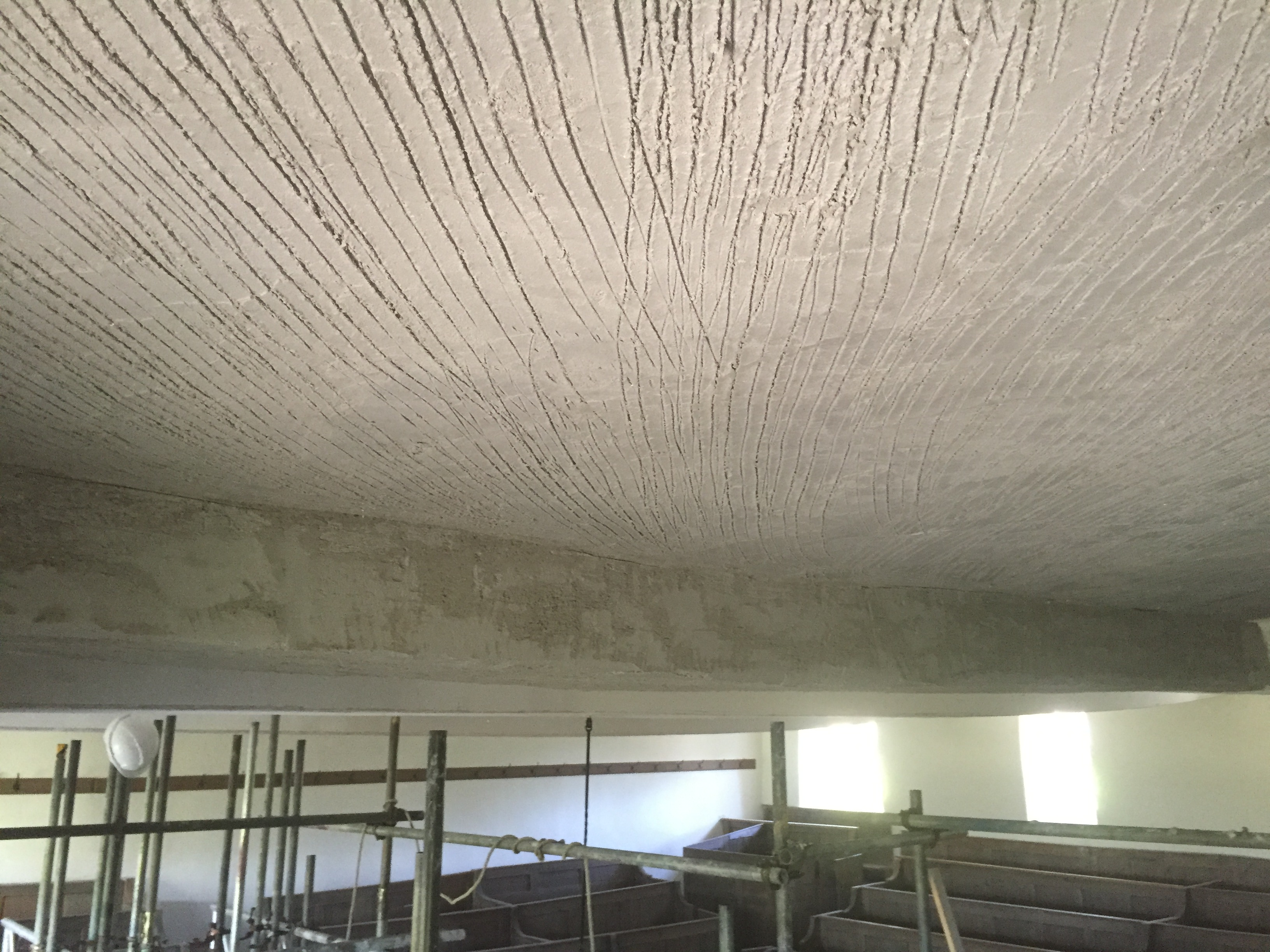 LATH CEILINGS