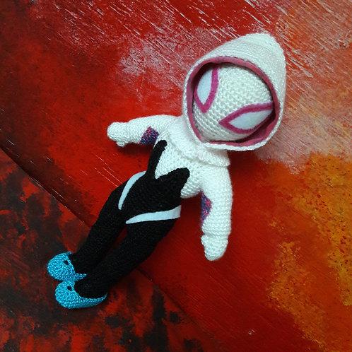 Gwen Spider Amigurumi, Handmade Crochet Spider Woman