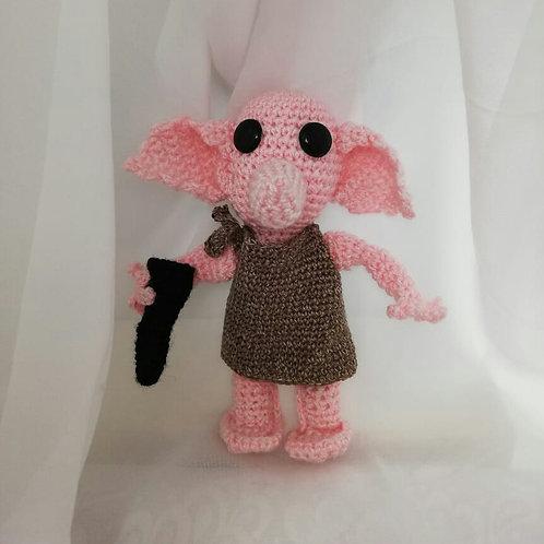 Amigurumi Dobby handmade  crochet elf