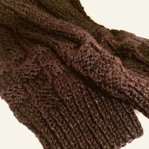 Leg warmers, knitted winter leg warmers  boot cuffs