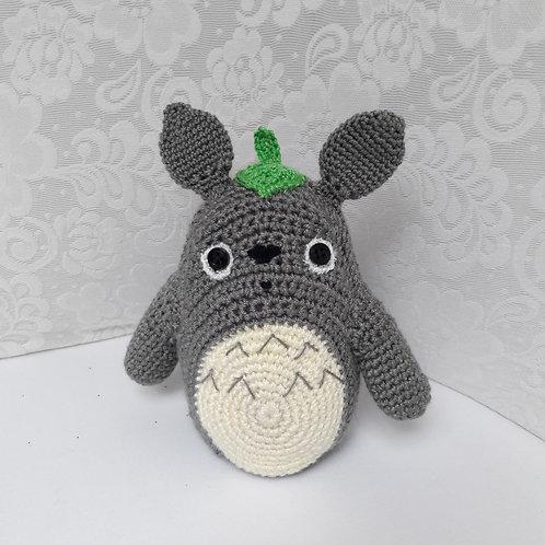 Big totoro stuffed doll Amigurumi, Totoro Handmade animal