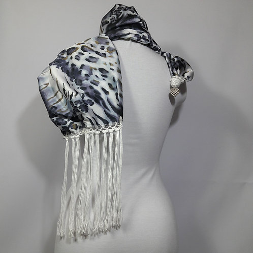 Animal Print Scarf women accessories, custom scarves