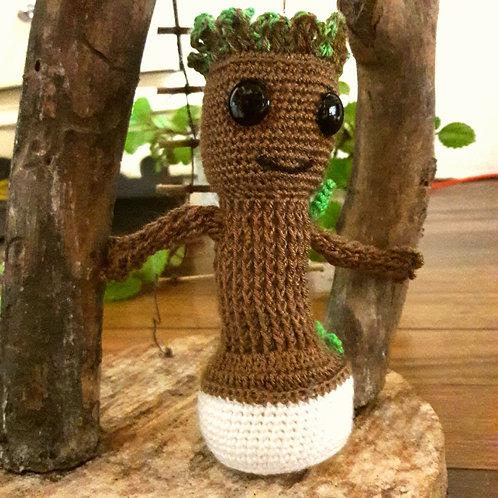 Crochet Baby Groot, Amigurumi Groot, I am Groot Handmade