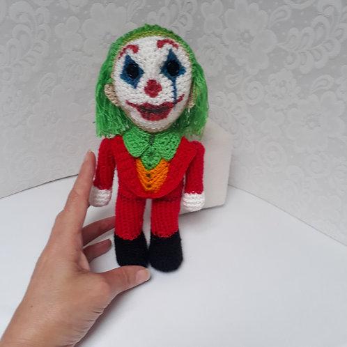 Joker, amigurumi, crochet figure, Joker 2019 Joaquin Phoenix