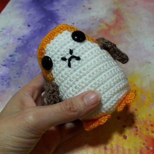 Amigurumi Porg, Handmade doll, Crochet Porg