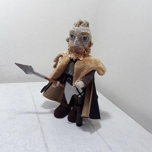 Ragnar Lothbrok, Vikings Season 2 amigurumi crochet doll
