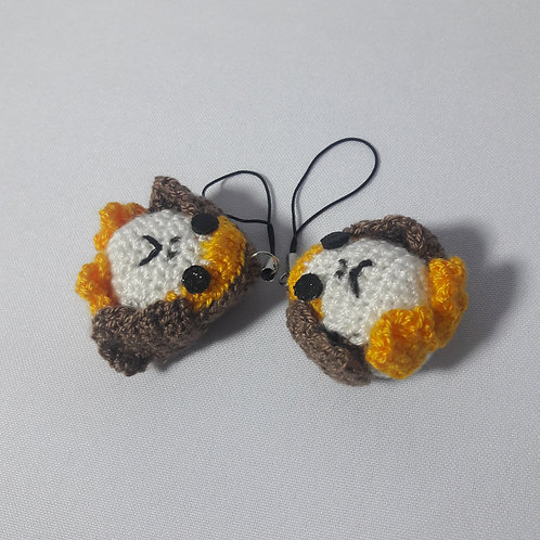 Mini Porg Amigurumi, Crochet Porg, Star Wars plush amigurumi