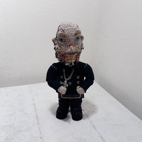 Ragnar Lothbrok, Vikings Season 4 amigurumi crochet doll