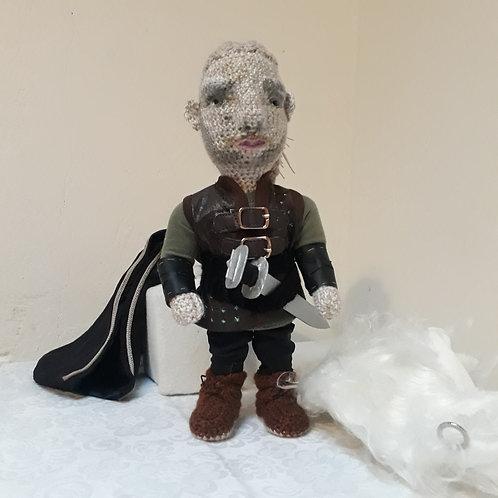Hvitserk  Ragnarsson, Vikings  amigurumi crochet doll