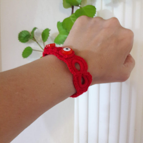Infinity Bracelet, yoga gift red bracelet, friendship bracelet