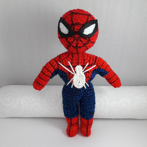 Amigurumi Spiderman, Handmade Crochet Spiderman
