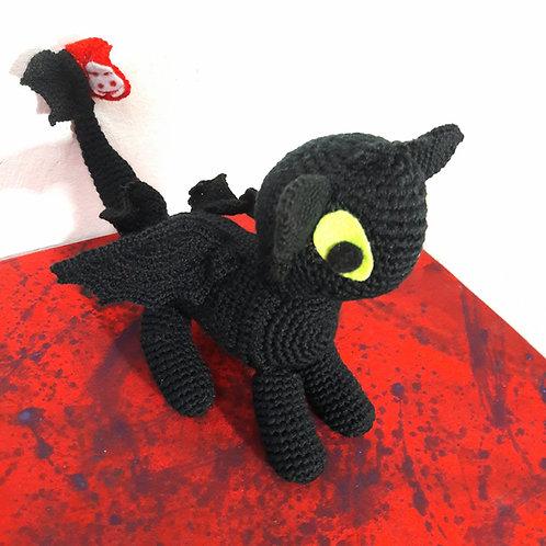 Toothless plush night fury dragon amigurumi crochet animal, How to train your dr