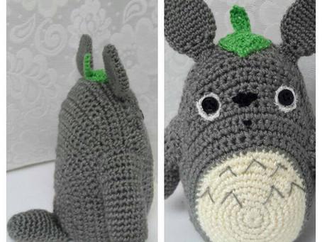 Amigurumi Totoro is ready!