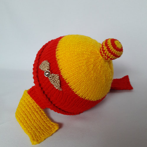Harry Potter Baby newborn hat, knit beanie