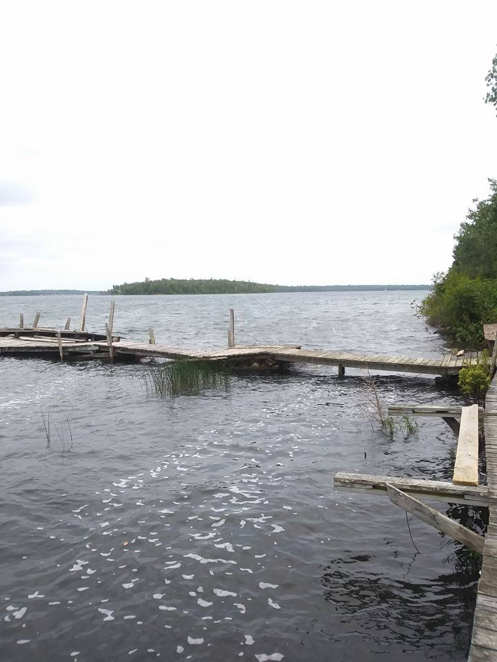 This dock got a little work later in the week too.