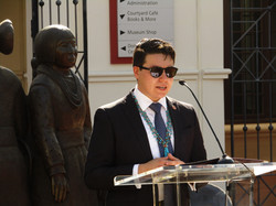 President Baca Speaking