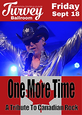 One More Time Turvey Centre Regina Sept 18