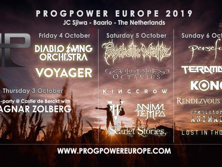 10 DAYS FOR PROG POWER EUROPE!