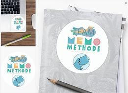 MemoMethode Team Sticker.JPG