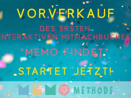 Memo Findet 1 ist Live!