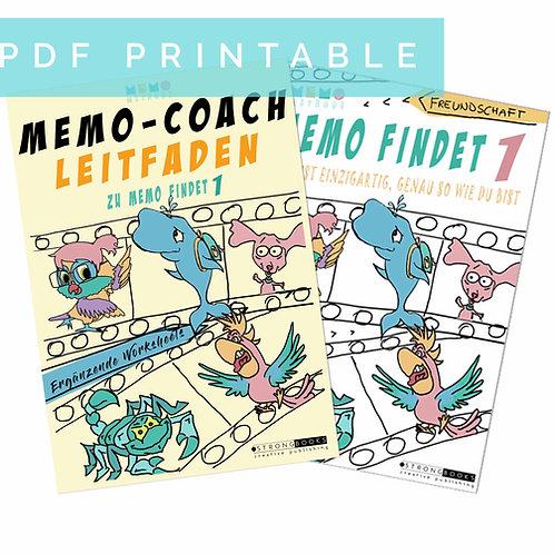 Memo-Coach LEITFADEN & Memo findet 1