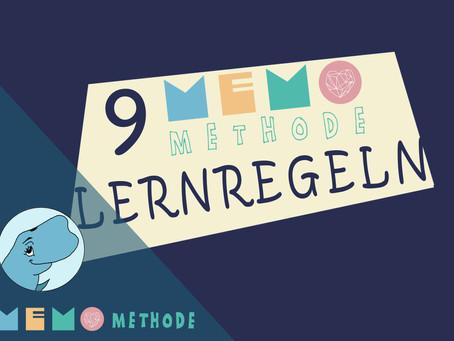 9 MemoMethode Lernregeln für ein erfolgreiches Lernen