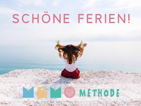 Schöne Ferien wünscht dein MemoMethode Team <3