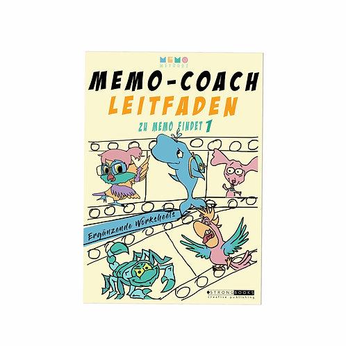 MemoCoach LEITFADEN zu Memo findet 1