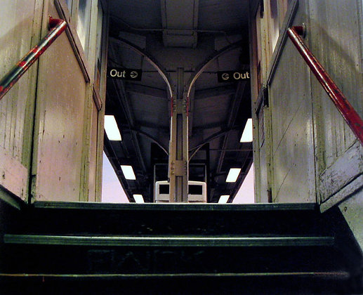 Red Line, Berwyn (Stairs)