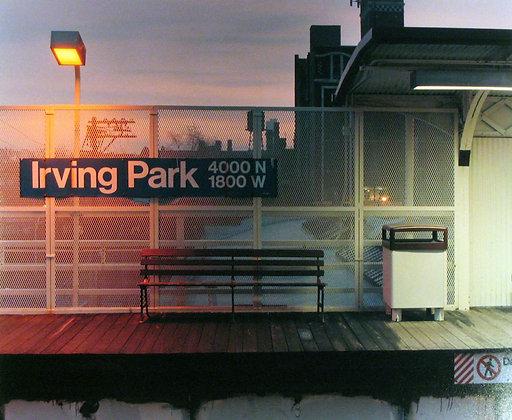 Brown Line, Irving Park