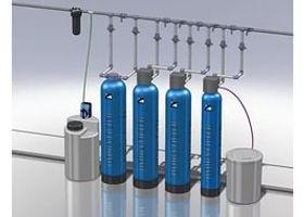 фильтры для воды, умягчение, аэрация, обезжелезивание