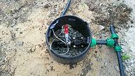 Электромагнитный клапан для полива. Короб для клапанов. Монтаж. Цена