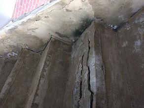 concrete stairs with concrete cancer_edi