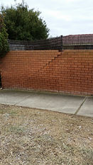 wall ready to fall before aligned and  r