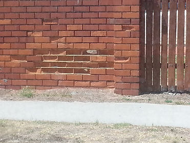fretting bricks and mortar