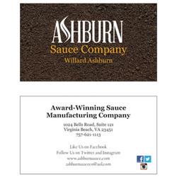 Ashburn businesscards