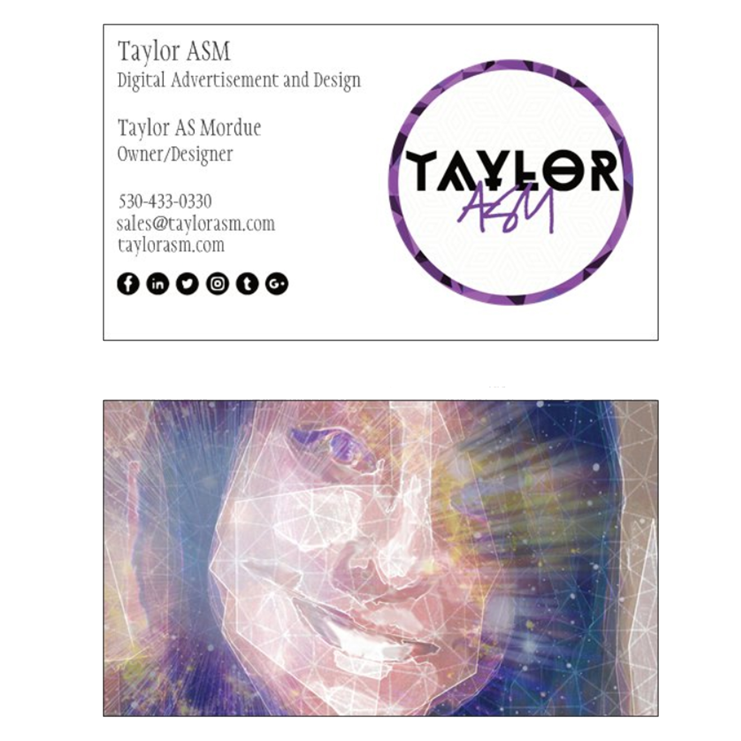 Taylor ASM businesscards
