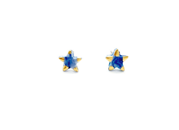 Blue speckled Stars