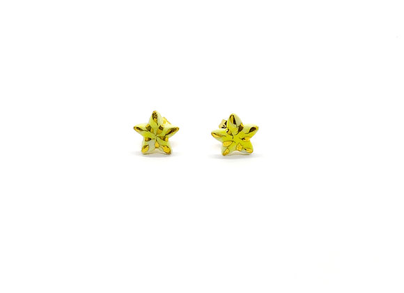 Shiny Yellow Stars