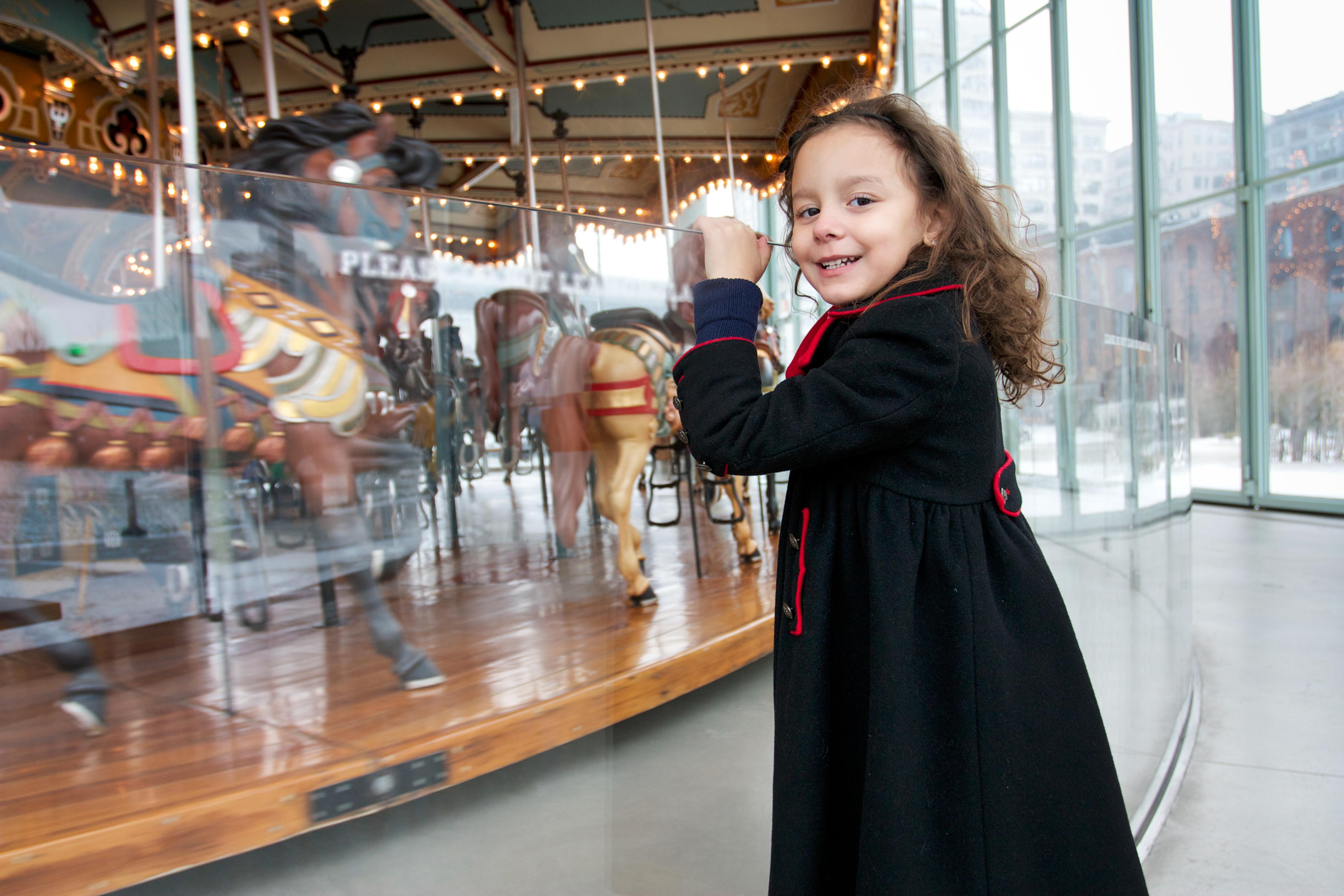 Jane's carousel child