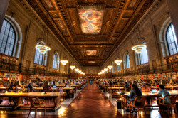 NYC Library Bronze