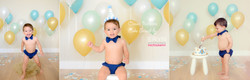 Classic Balloons Boy Cake Smash